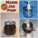 Mason Jar Pump Dispenser – DIY