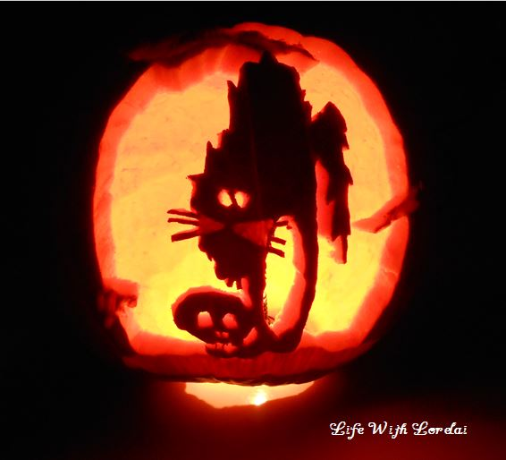 Spooky Kitty and Skull 2012 | Life With Lorelai