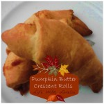 Pumpkin Butter Crescent Rolls