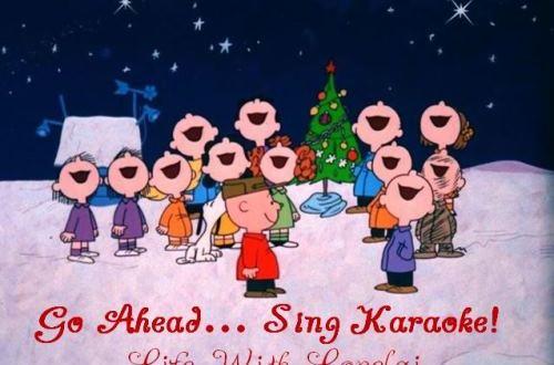 Go Ahead Sing Karaoke - Christmas - Life With Lorelai