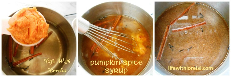 Add Pumpkin and Spices - Pumpkin Spice Syrup - lifewithlorelai.com