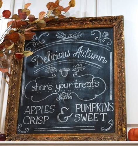 Delicious Autumn Chalkboards - lifewithlorelai.com