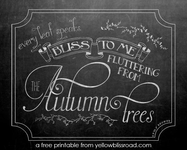 Every Leaf Speaks Chalkboards - lifewithlorelai.com