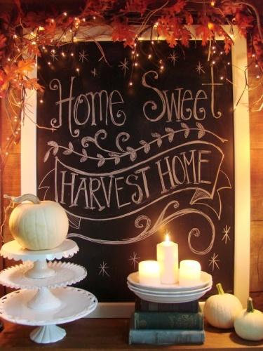 Home Sweet Harvest Home Chalkboards - lifewithlorelai.com