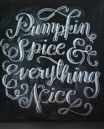 Pumpkin Spice and Everything Nice Chalkboards - lifewithlorelai.com
