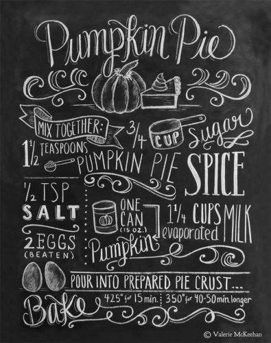 Pumpkin Pie Chalkboards - lifewithlorelai