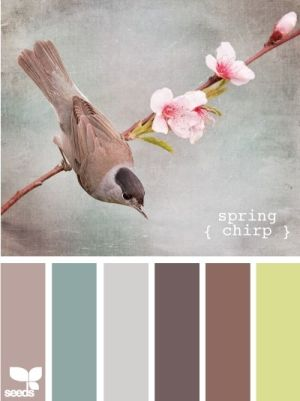 Spring Chirp Color Schemes - Life With Lorelai