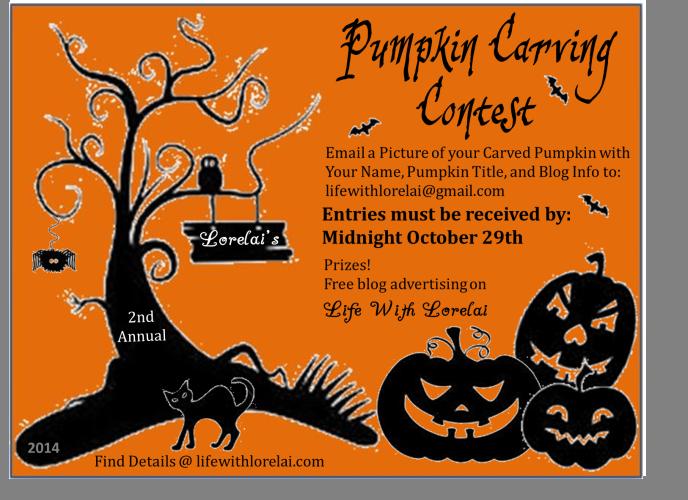 Lorelai's Pumpkin Carving Contest 2014 | Life With Lorelai