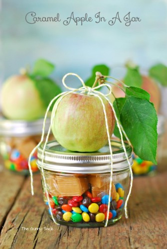 Mason Jar Caramel Apple | Life With Lorelai - lifewithlorelai.com
