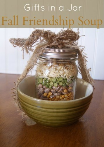 Mason Jar Fall Friendship Soup Mix Gift | Life With Lorelai - lifewithlorelai.com