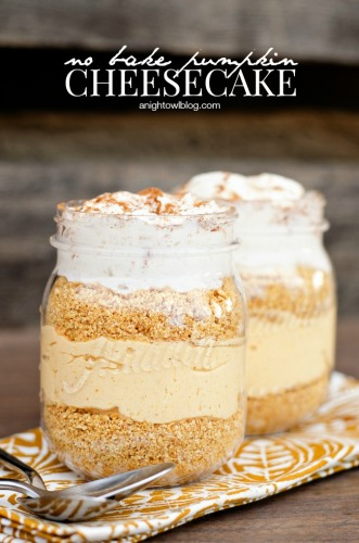 No Bake Pumpkin Cheesecake Parfaits | Life With Lorelai - lifewithlorelai.com