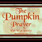 Pumpkin Prayer – Halloween Activity