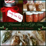 13 Homemade Gift Ideas – Food