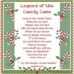 Candy Cane Legend with Printables