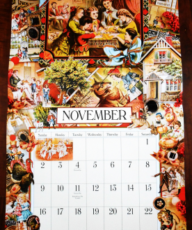 November 2014 - Victoriana Calendar - Life With Lorelai