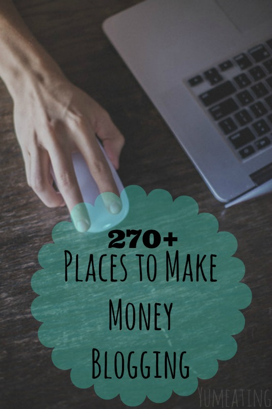 Make Money Blogging - YUMeating
