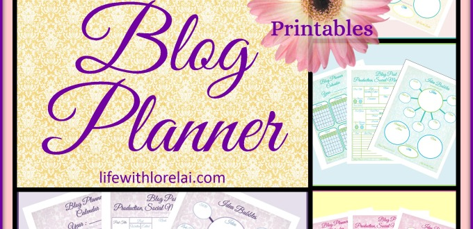 Universal Blog Planner - Life With Lorelai