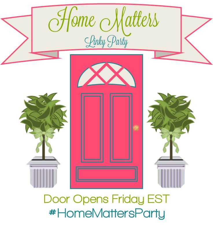 Home Matters Linky Party #118