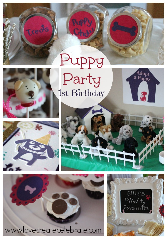 Puppy Themed Birthday Party - HMLP Feature