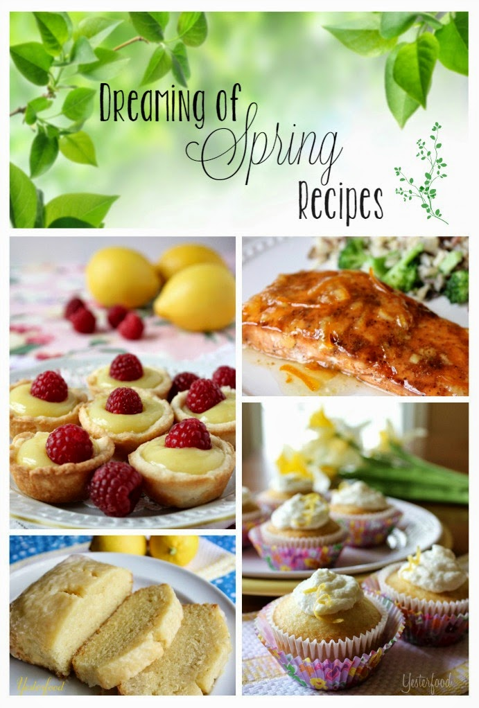 Dreaming of Spring Recipes - HMLP Feautres