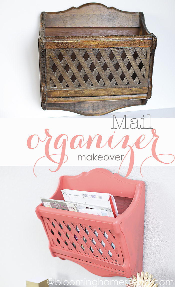 Easy Mail Organizer Makeover - HMLP Feature