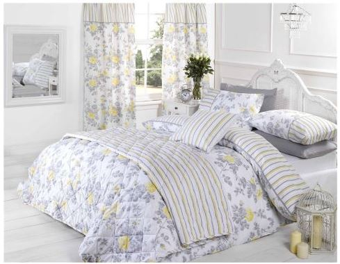 Laura Lemon Reversible Duvet Cover Set - Tesco