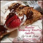 Rustic Raspberry Ricotta Galette
