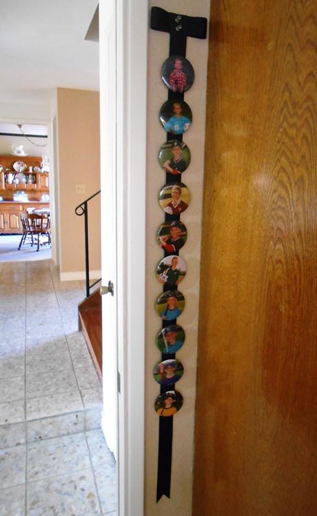 Sports Button Ribbon Full - Life With Lorelai