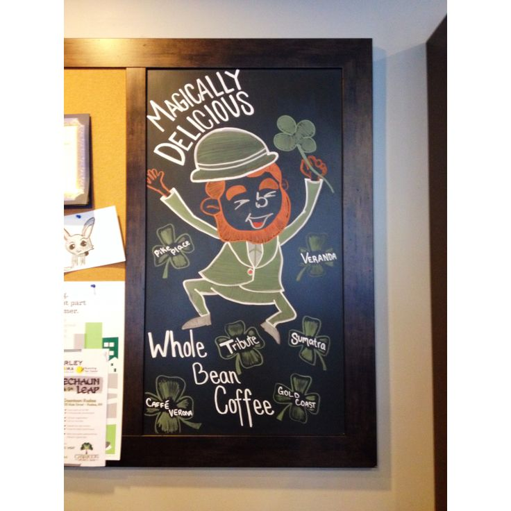 St Patricks Day Chalkboard 12