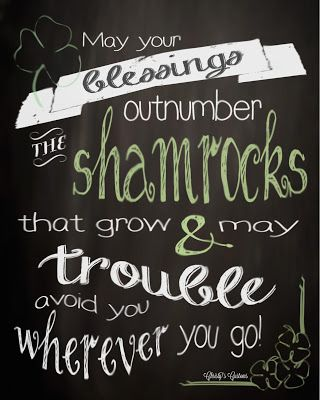 St Patricks Day Chalkboard 8