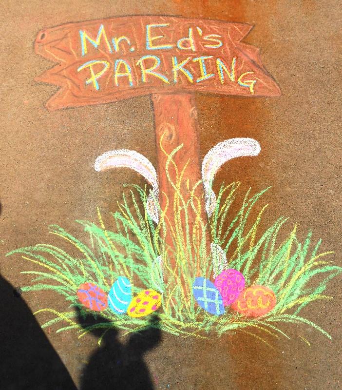 Mr Ed's Easter Parking
