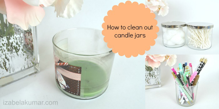 How to Clean Out Candle Jars - HMLP Feature