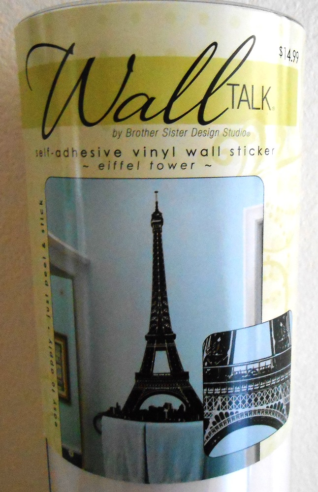 Eiffel Tower Vinyl Wall Art - LIfe With Lorelai