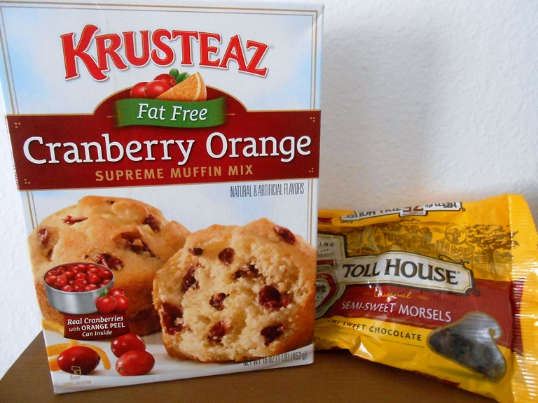 Krusteaz Cranberry Orange Muffin Mix - Chocolate Chips