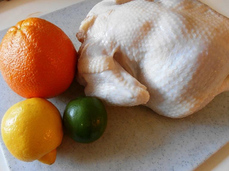 Lemon, Lime, Orange, Chicken