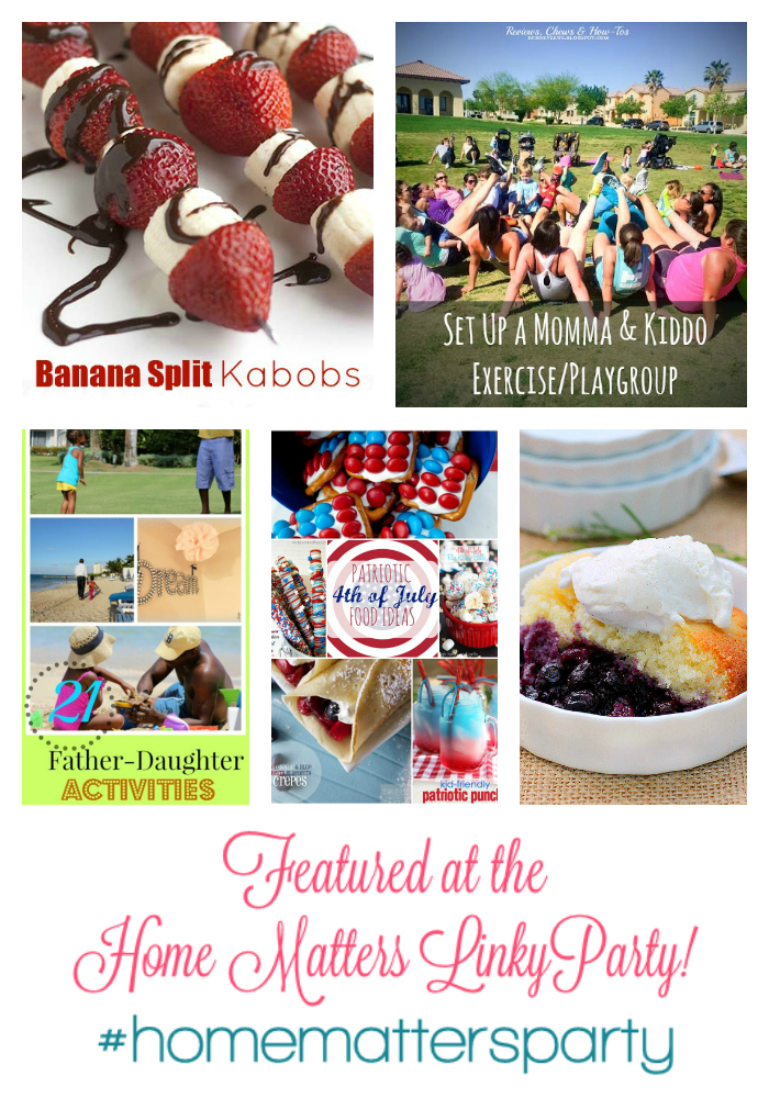 Featured Post at the Home Matters Linky Party #42