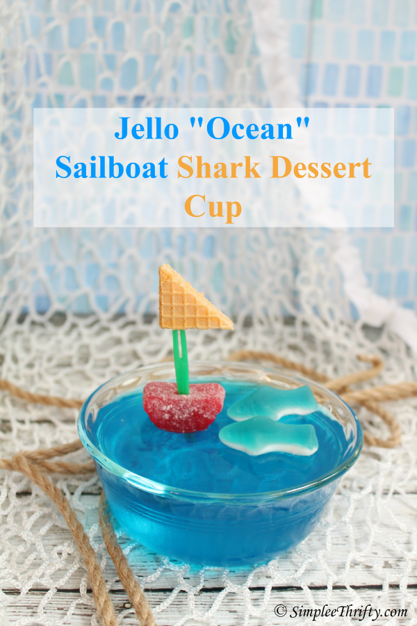 "Jello ""Ocean"" Dessert Cup - Feature HMLP 43"