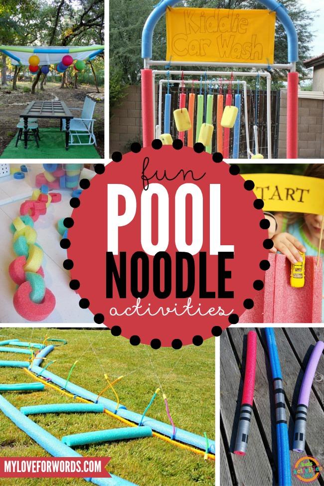 Fun Pool Noodle Activities - HMLP 44 Feature