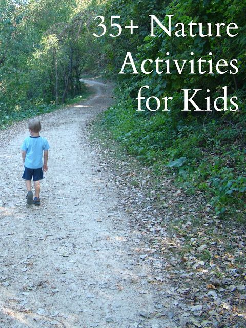 35+ Nature Activities for Kids - Reading Confetti
