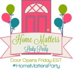 Home Matters Linky Party #50