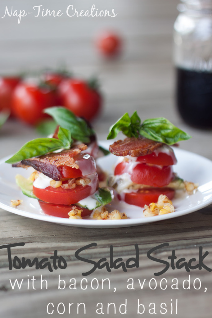 Tomato Salad Stack from Emily @ Nap Time Creations