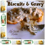 Biscuits And Gravy – A Healthier Recipe