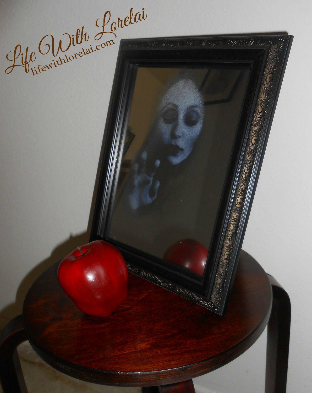 Haunted Mirror 4 - Halloween DIY - LWL