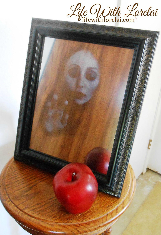 Haunted Mirror 5 - Halloween DIY - LWL