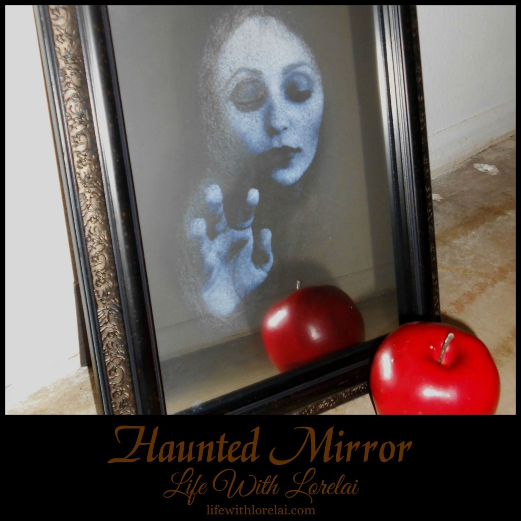 Haunted Mirror - Halloween DIY - Life With Lorelai