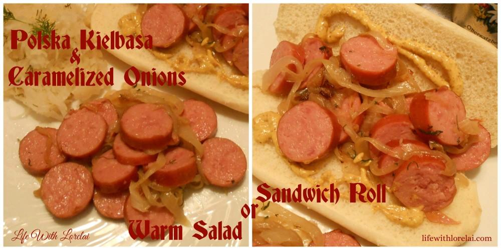 Hillshire-Farm-Polska-Kielbasa-Caramelized-Onion-Warm-Salad-Sandwich-Roll #shop