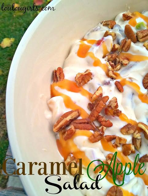 Caramel Apple Salad - Lou Lou Girls - HMLP 67 Feature