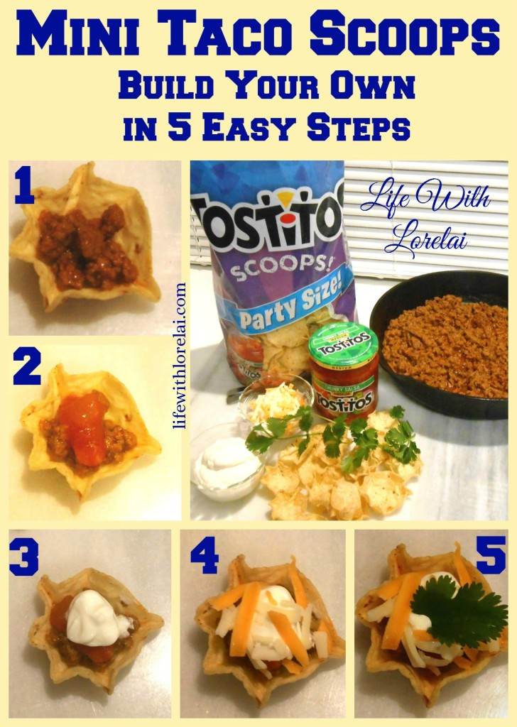 Build Your Own in 5 Easy Steps - Mini Taco Scoops