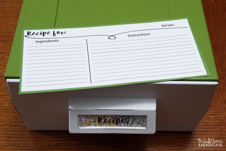 Michelle - Jan 12 - Recipe Card Organization - Pic 10