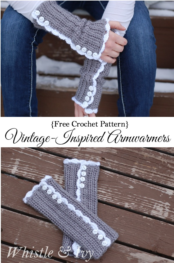 Vintage-Inspired Armwarmers - Whistle & Ivy - HMLP 68 Feature